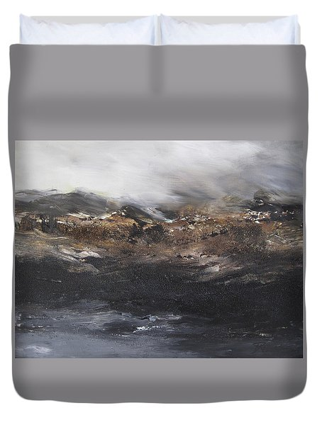 Beyond The Cliffs Duvet Cover
