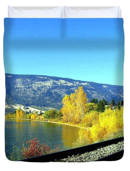 Beyond The Next Bend Duvet Cover