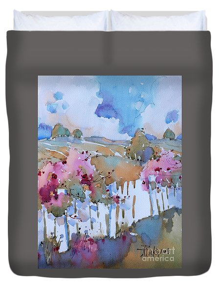 Beyond The Picket Fence Duvet Cover