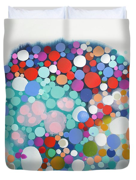 Beyond The Reef Duvet Cover