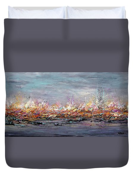 Beyond The Surge Duvet Cover