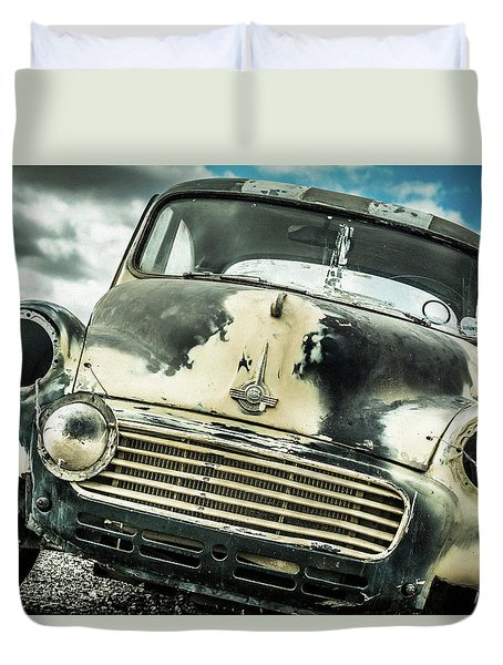 Beyond The Thunder Dome Duvet Cover