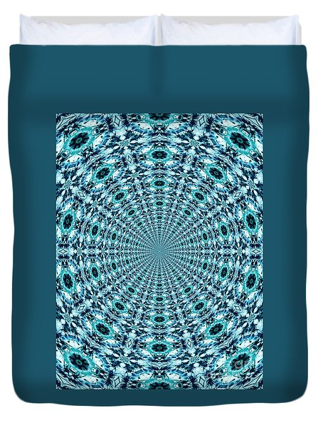 Beyond Time And Space Duvet Cover