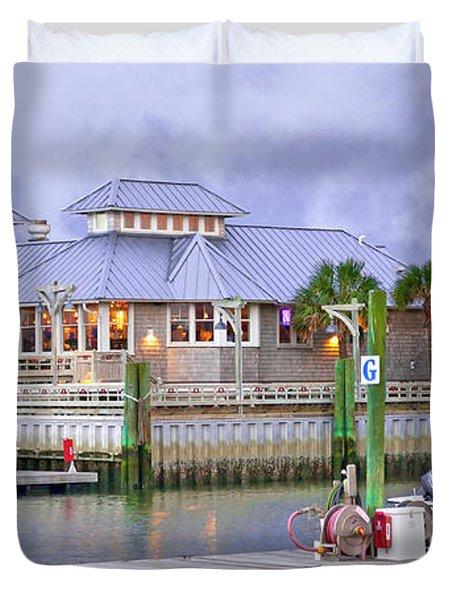 Bhi Marina Purple Hue Evening Duvet Cover