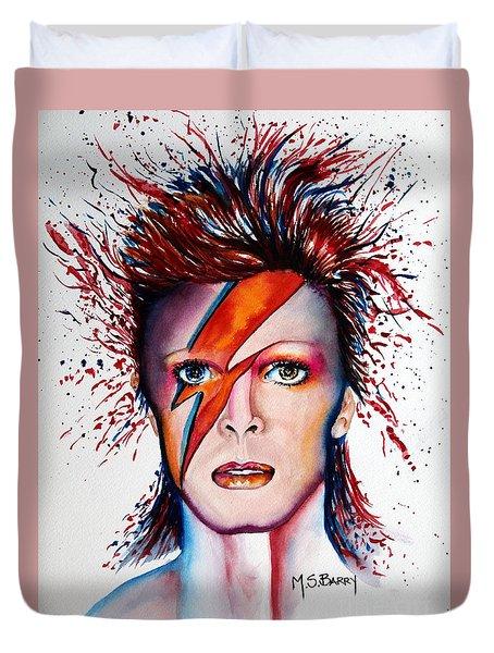 Bi Bi Bowie Duvet Cover