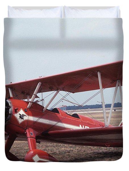 Bi-wing-1 Duvet Cover