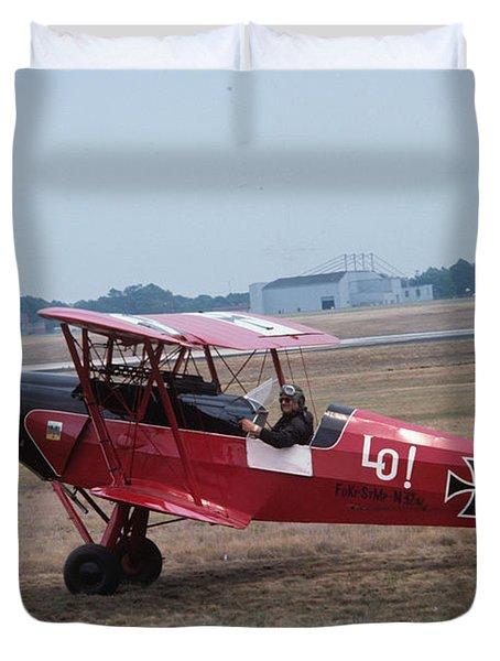 Bi-wing-7 Duvet Cover