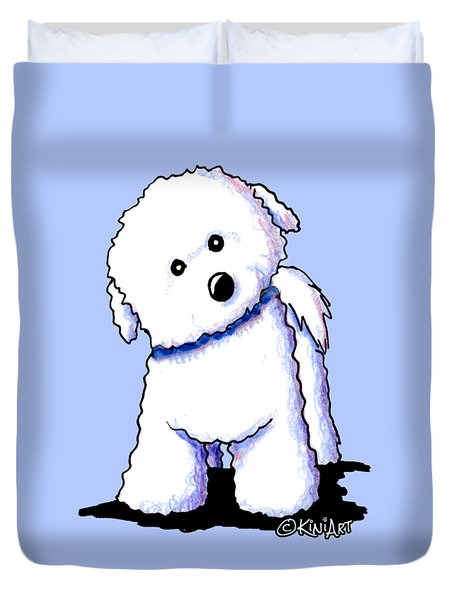 Bichon Boy Duvet Cover