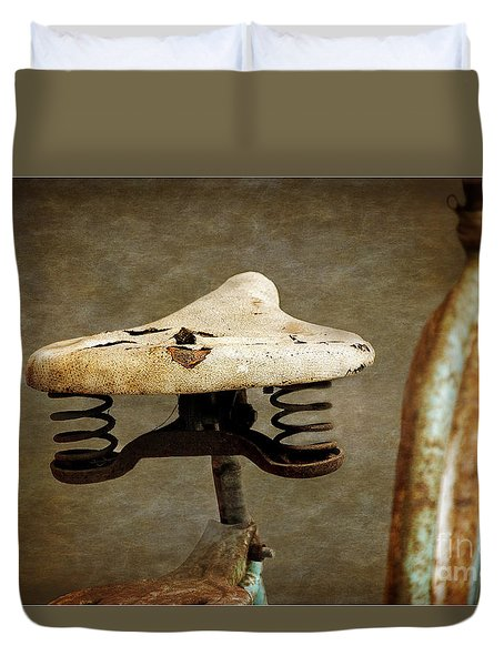 Bicycle Seat Duvet Cover