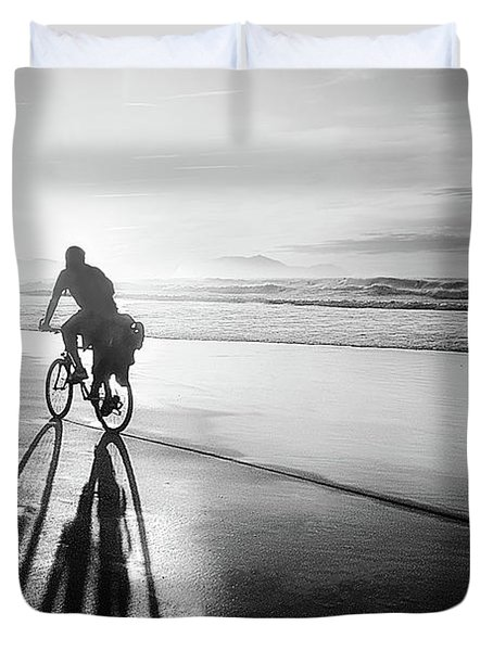 Bicycles Are For The Summer Duvet Cover