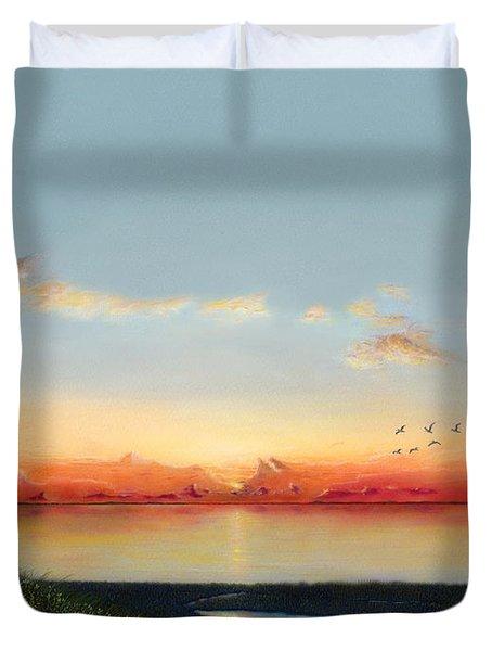 Big Assawoman Bay Duvet Cover