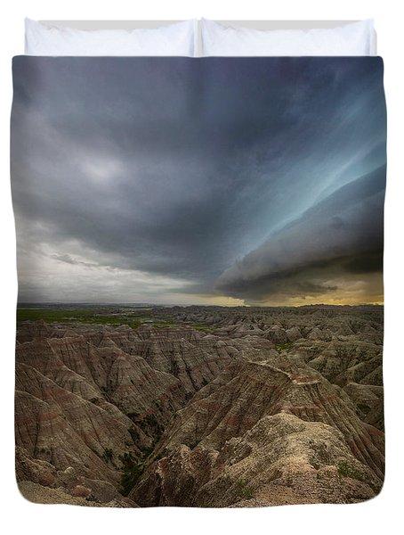 Big Badlands Duvet Cover
