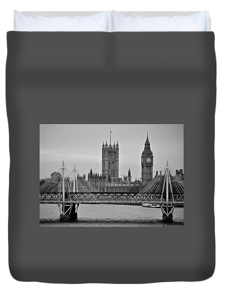 Big Ben And Parliament  Duvet Cover