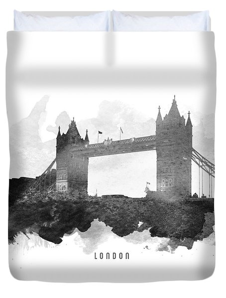 Big Ben London 11 Duvet Cover by Aged Pixel