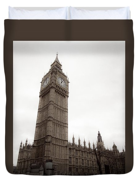 Big Ben Duvet Cover by Patrick  Leeflang