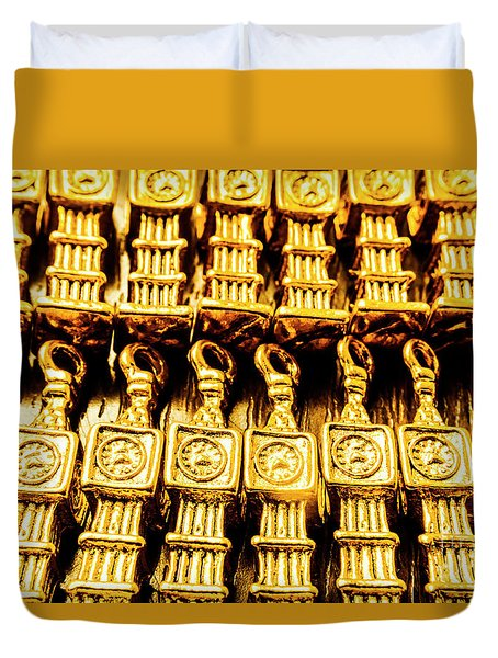 Big Ben The Clock Collector Duvet Cover