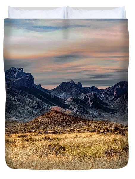 Big Bend Hill Tops Duvet Cover