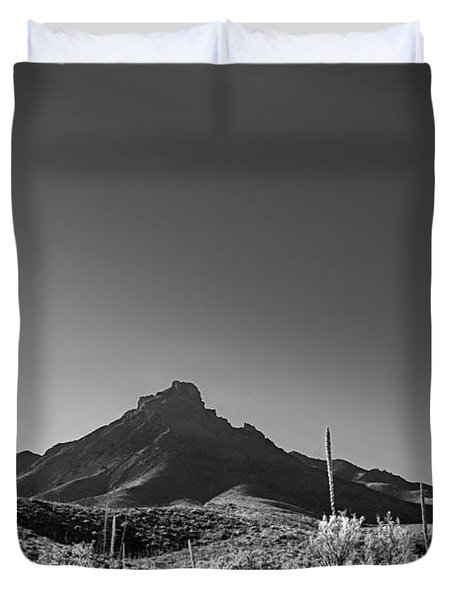 Duvet Cover featuring the photograph Big Bend Np Image 134 by Kerry Beverly
