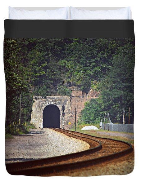 Big Bend Tunnel  Duvet Cover
