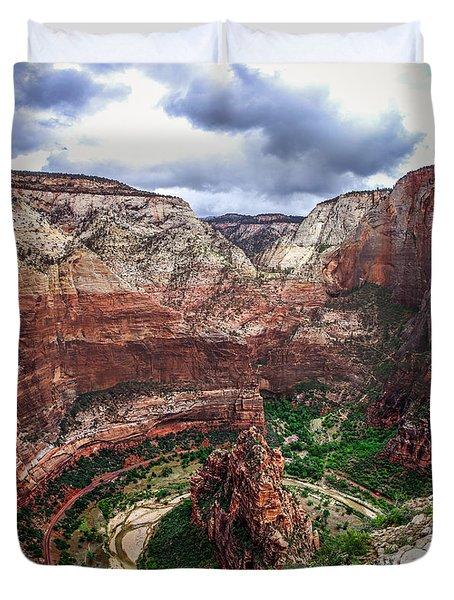 Big Bend Zion National Park Duvet Cover