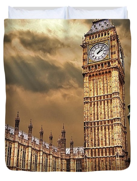 Big Ben's House Duvet Cover
