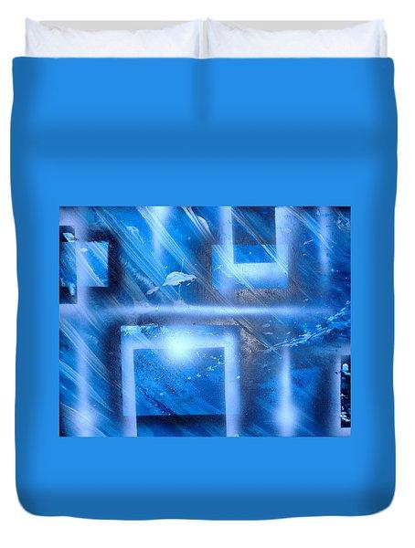 Big Blue II Duvet Cover