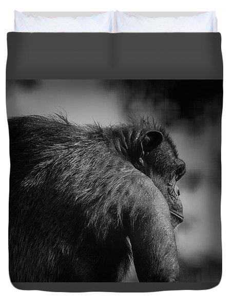 Duvet Cover featuring the photograph Big Boss by Ramabhadran Thirupattur