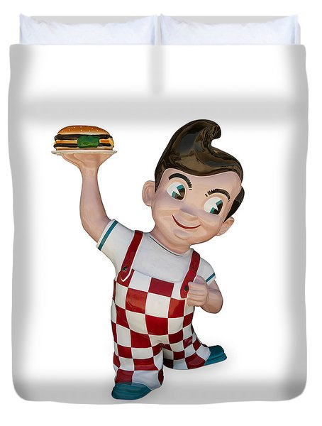 The Big Boy Duvet Cover by Gary Warnimont