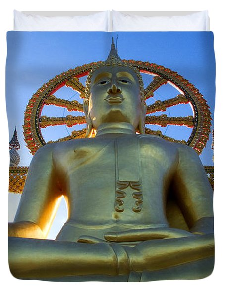 Big Buddha At Koh Samui Duvet Cover