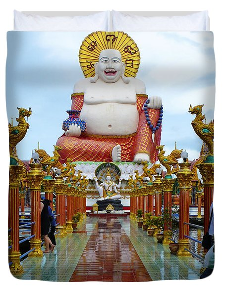 Big Buddha Duvet Cover