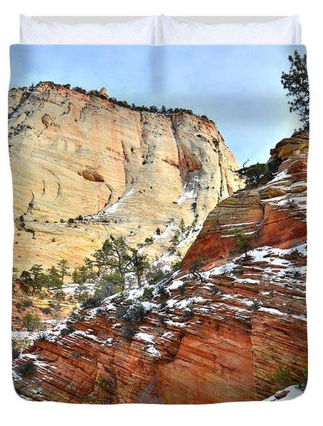 Big Butte II Duvet Cover