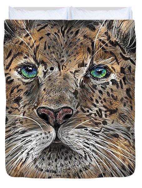 Big Cat Duvet Cover
