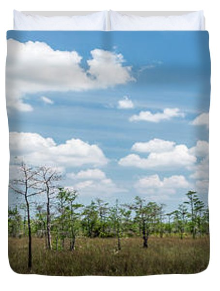 Big Cypress Marshes Duvet Cover