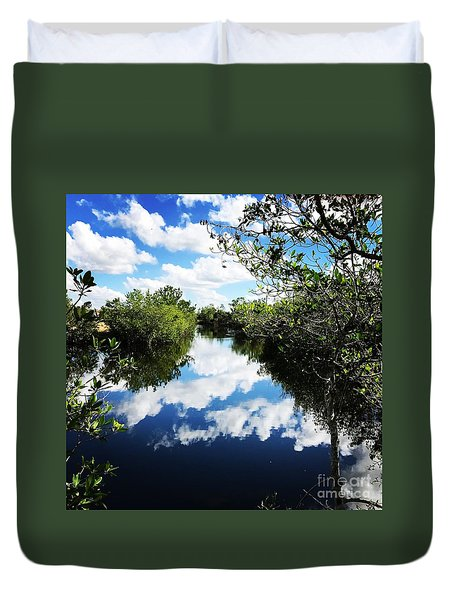 Big Cypress National Preserve Duvet Cover