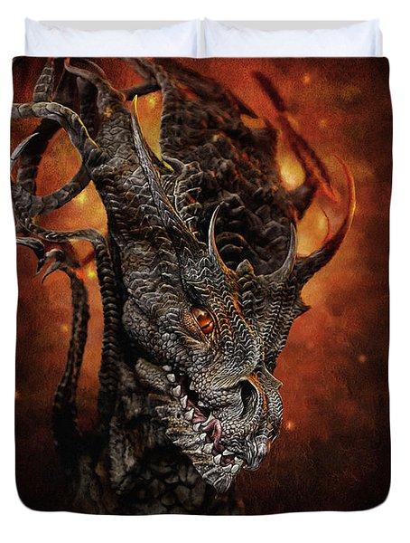 Big Dragon Duvet Cover