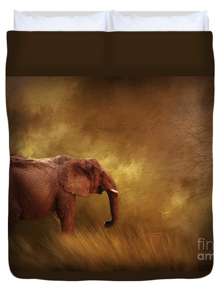Big Ed Duvet Cover