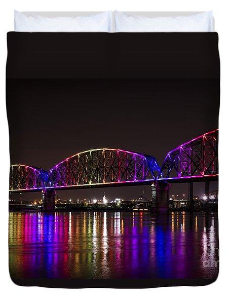 Big Four Bridge 2214 Duvet Cover