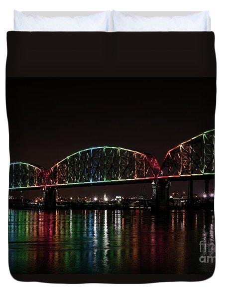 Big Four Bridge 2215 Duvet Cover