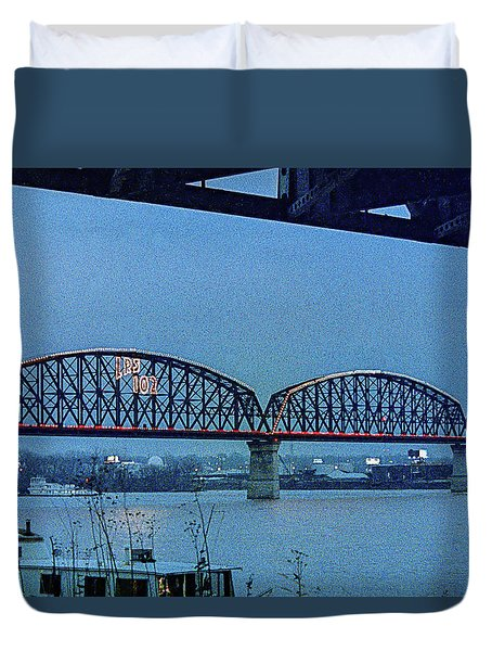 Big Four Bridge Duvet Cover