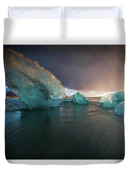 Big Ice Duvet Cover