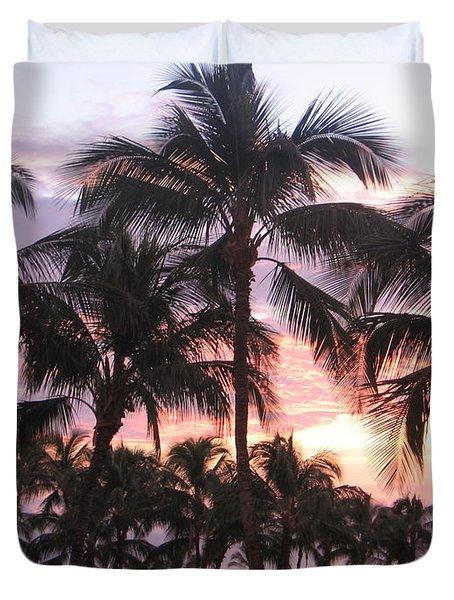 Big Island Sunset 3 Duvet Cover