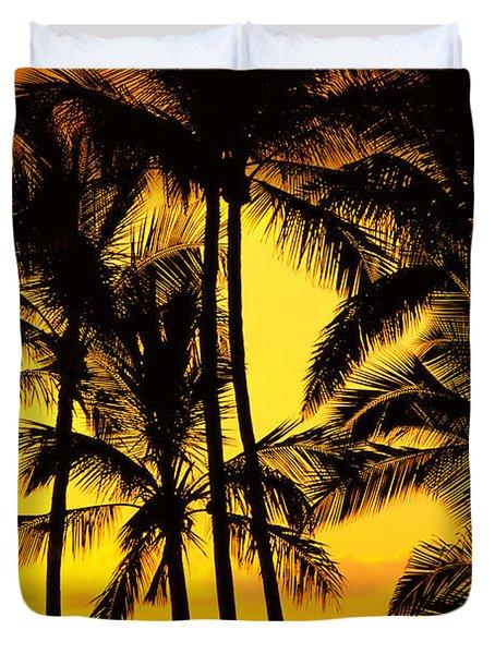 Big Island, View Duvet Cover by Greg Vaughn - Printscapes