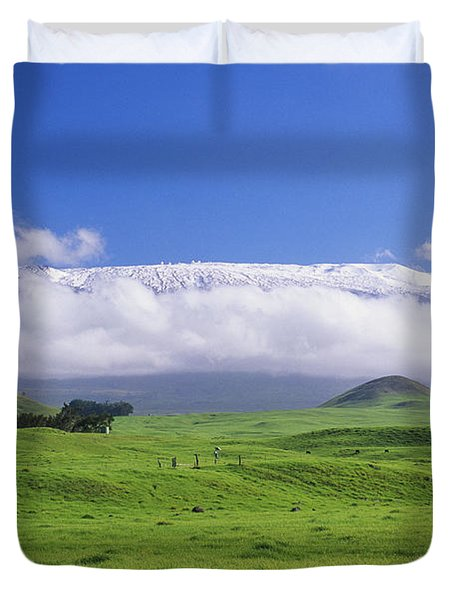 Big Island, Waimea Duvet Cover by Peter French - Printscapes