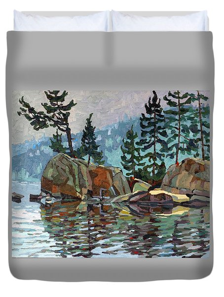 Big Joe Mufferaw Pines Duvet Cover
