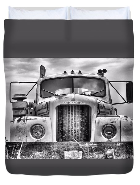 Big Mack Duvet Cover