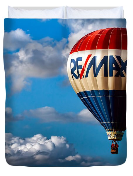 Big Max Re Max Duvet Cover by Bob Orsillo