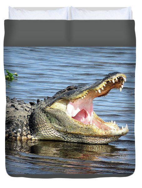 Big Mouth Duvet Cover