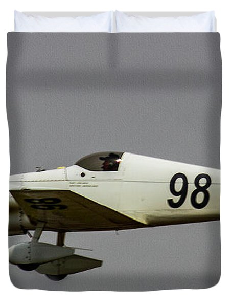 Big Muddy Air Race #98 Duvet Cover
