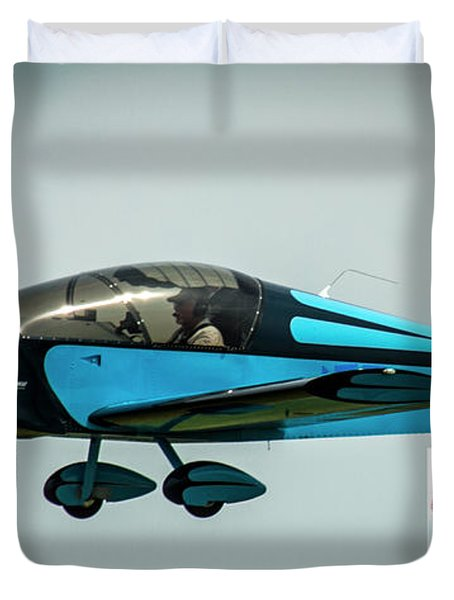 Big Muddy Air Race Number 100 Duvet Cover