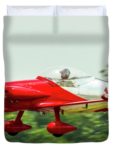 Big Muddy Air Race Number 11 Duvet Cover
